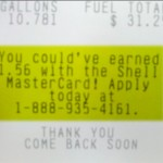 Effective upselling by Shell Mastercard