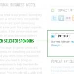 User Selected Sponsors