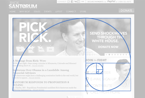 Santorum - Golden Ratio Design